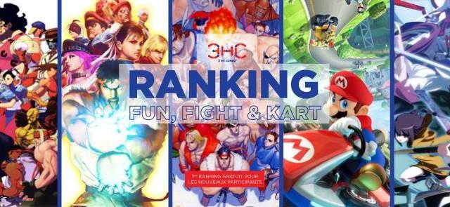 Chers amis, la nouvelle saison des Rankings est de retour et on reprend en fanfare dès ce dimanche à la Maison de Quartier La Touche ! Voici la liste des jeux en compétition cette année :