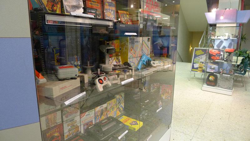 exposition rétrospective 40 ans de jeux vidéo 2011
