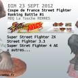 Dimanche 23 septembre, la nouvelle saison de Ranking Battles démarre avec un évènement particulier, la Coupe de France de Street Fighter !