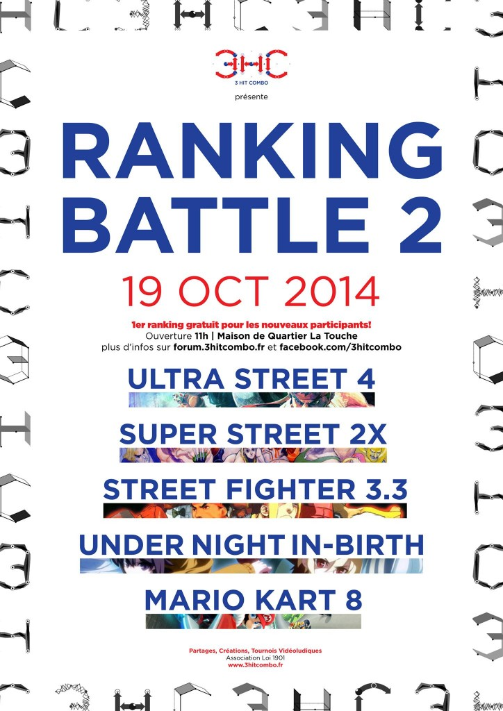 Affiche Ranking Battle #2 - 2014