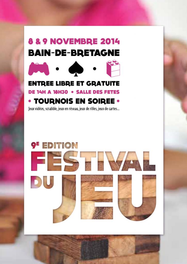 Festival du jeu 2014 Bain de Bretagne