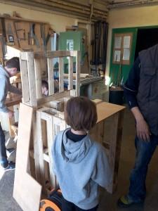 Construction borne d'arcade